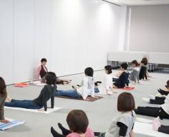 全国大会 大阪会場 ヨガ公開教室